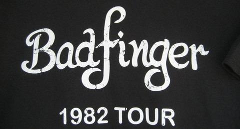 T-shirt Badfinger 1982 tour