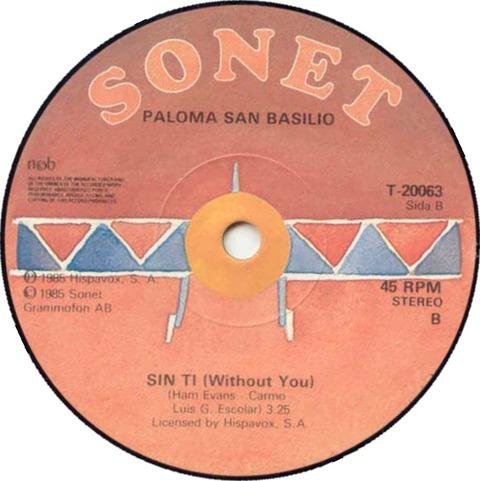 Paloma San Basilio - La Fiesta Terminó (1985) r2