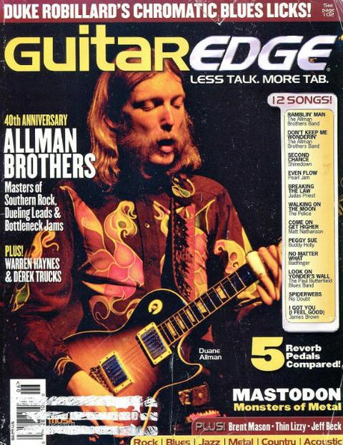 Guitar Edge MayJune 2009