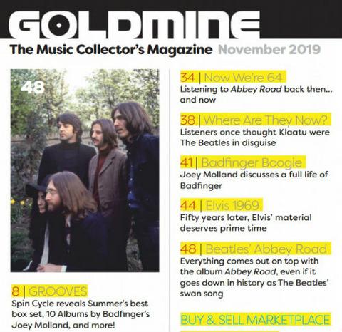 Goldmine (Nobember 2019) a