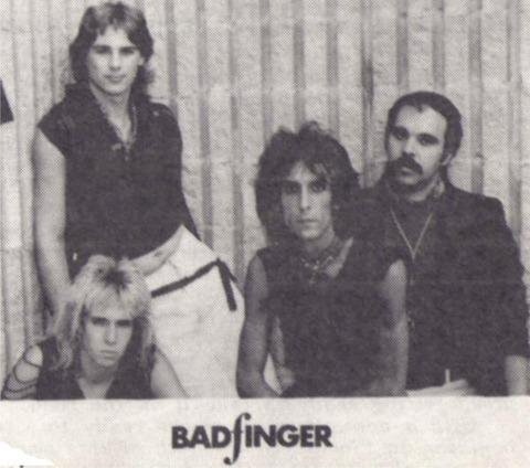 Clark Chambers with Badfinger
