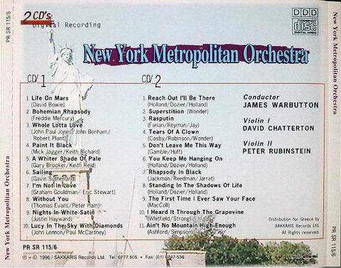 New York Metropolitan Orchestra back
