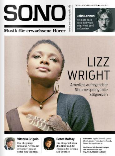 Sono Oct 2010 cover