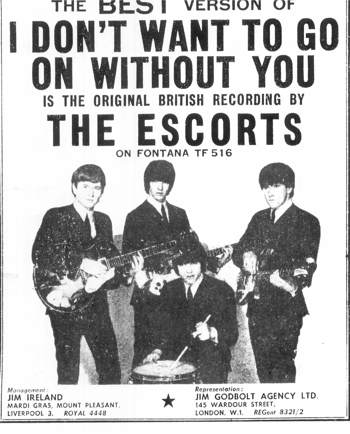 The Escorts 1965