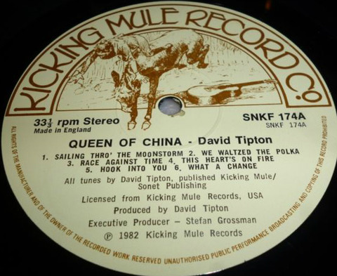 David Tipton - Queen of China (1983) r1