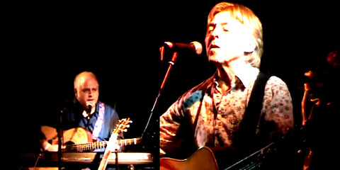 Joey Molland with  Paul Davie 2012