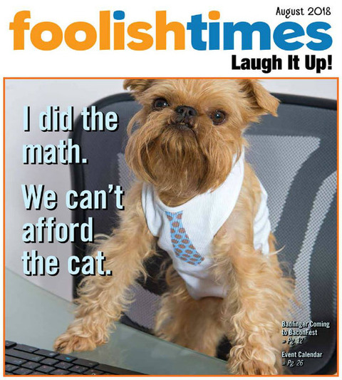 Foolish Times August 2018 cover