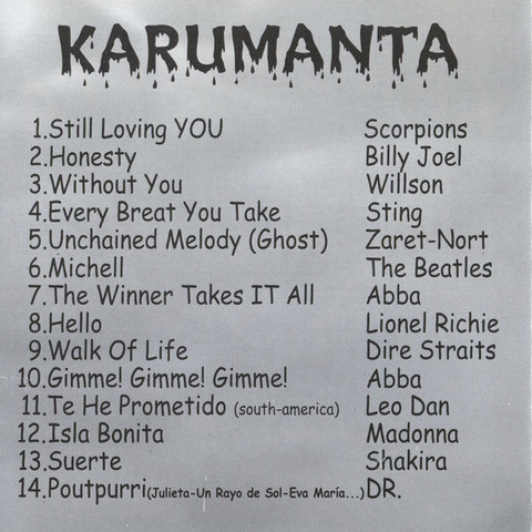 Karumanta Without You c