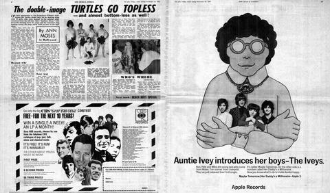 NME #1141 (Nov 23, 1968) ad