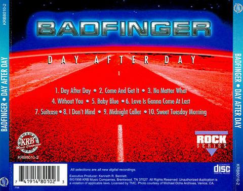 bjm CD 1998 KRB Day After Day back