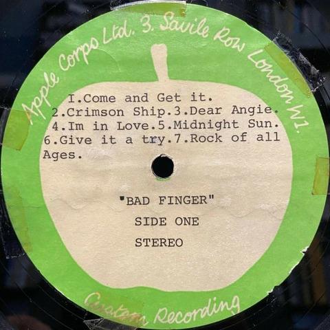 Magic Christian Apple Records Acetate Badfinger a