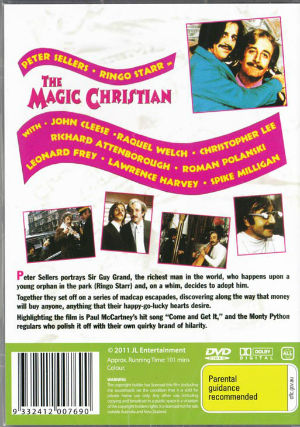 The Magic Christian DVD 101min 2011 back