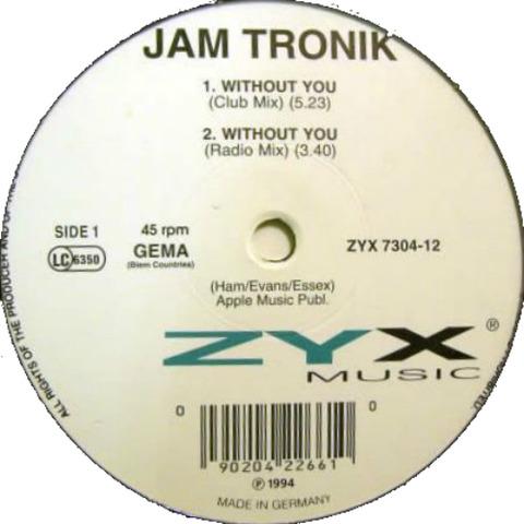 Jam Tronik - ZYX 7304-12 r