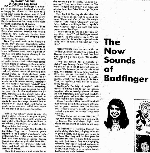 The Corpus Christi Caller-Times (May 30, 1971)p104 badfinger