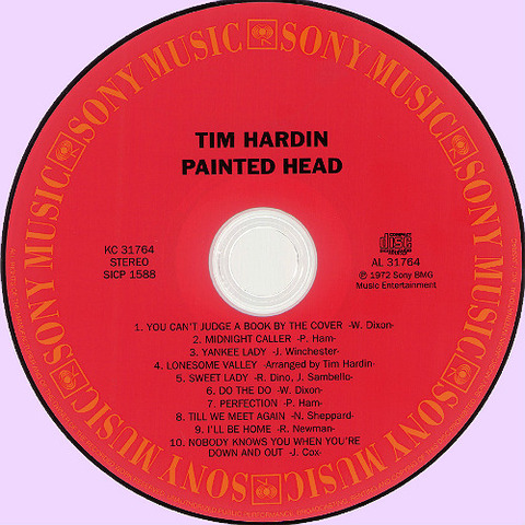 Tim Hardin CD Painted Head