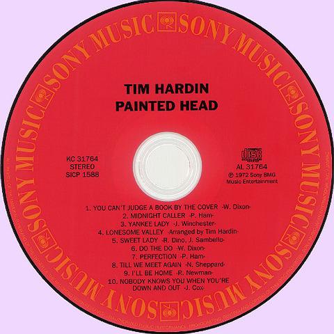 Tim Hardin CD Painted Head