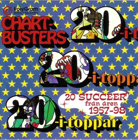 Gigolo Aunts - Chartbusters 20-I-Toppar (1998)