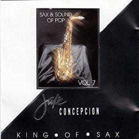 Jake Concepcion - Sax & Sounds of Pop, Vol 7