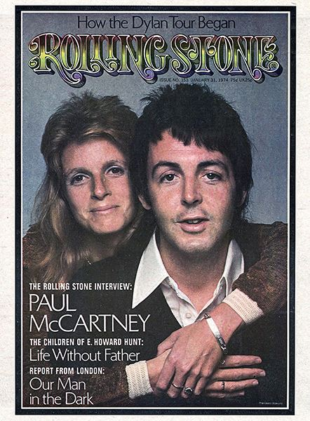 Rolling Stone #153 (January 31, 1974) cover