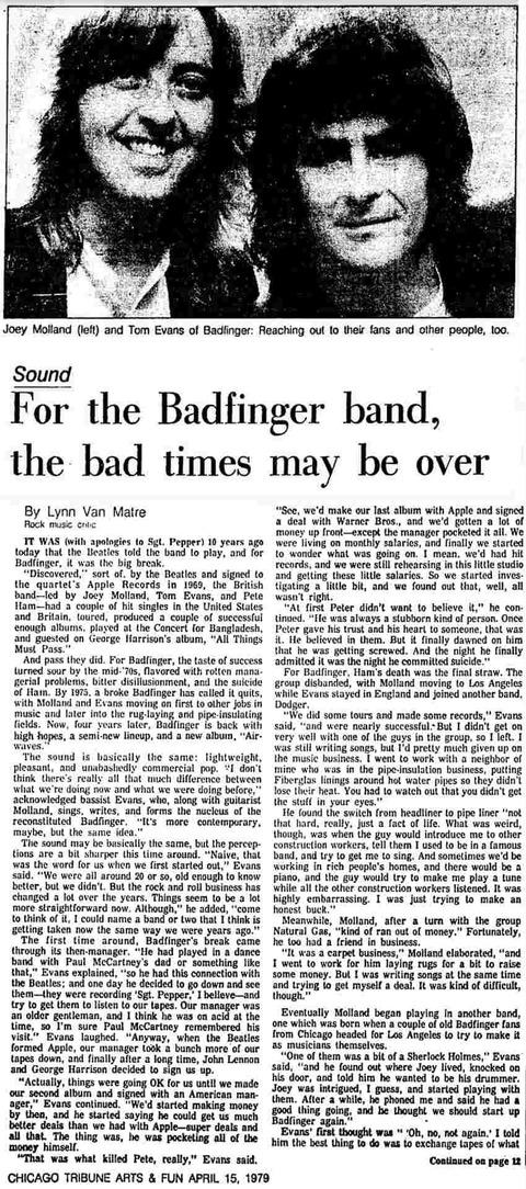 Chicago Tribune (April 15 1979) a