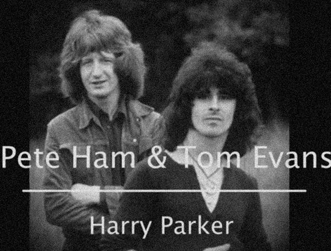 Harry Parker - Pete Ham & Tom vans