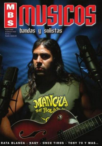 Músicos, Bandas y Solistas #12 cover