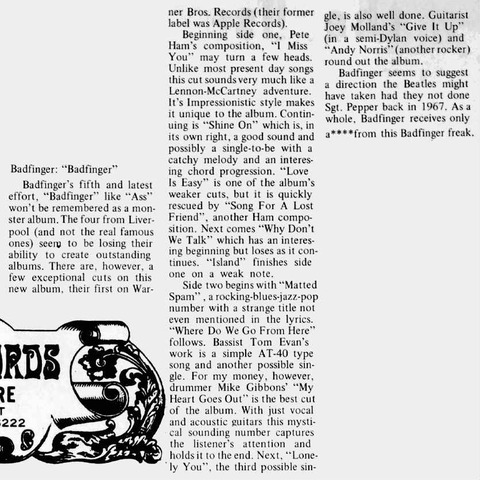 Marian College The Phoenix (March 18, 1974)