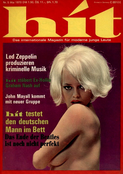 Hit magazine May 1970 cover