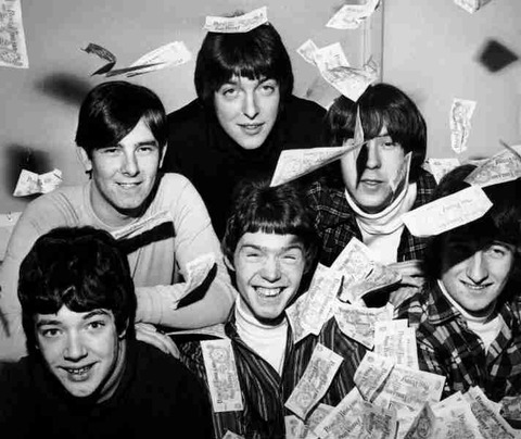 Cryin' Shames in the Music Echo Offices 1966