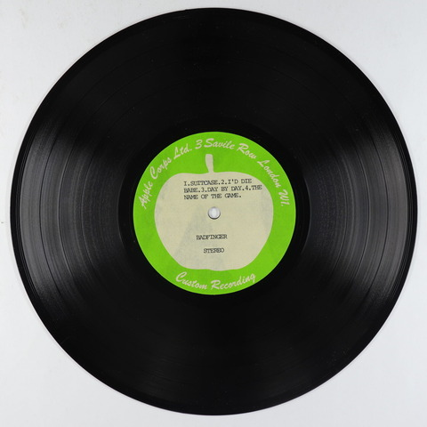 Badfinger - 4 Tracks From Straight Up Acetate 10 - Apple UK a