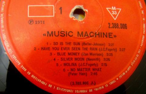Music Machine - Music Machine r1