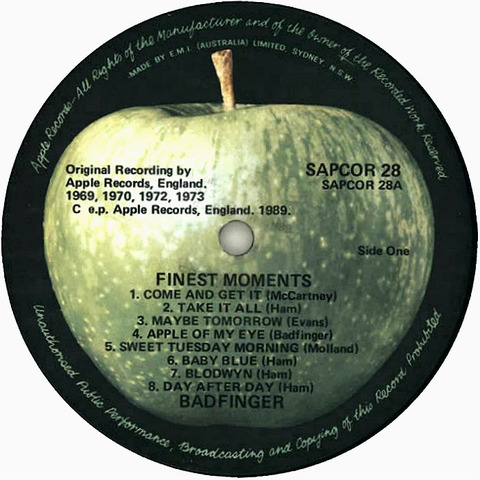 Badfinger Finest Moments r1