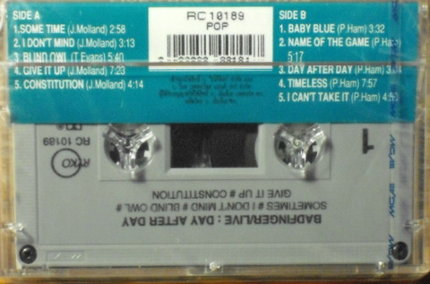 Badfinger Live Day After Day Thai Cassette b