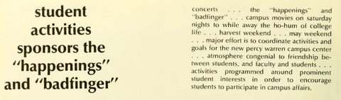 Madison College Yearbook 1971 b