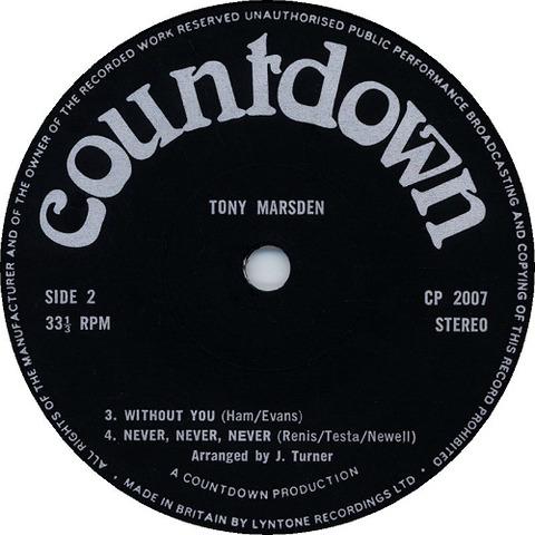 Tony Marsden - CP 2007