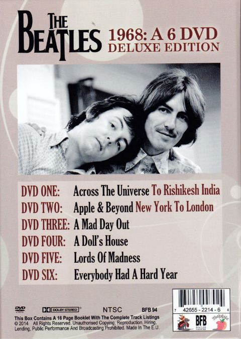 The Beatles - 1968 BFB b