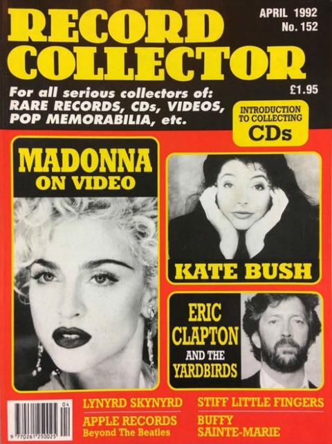 Record Collector #152 (April 1992) cover