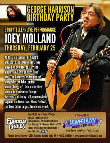 George Harrison Birthday Party (Feb 25, 2016)