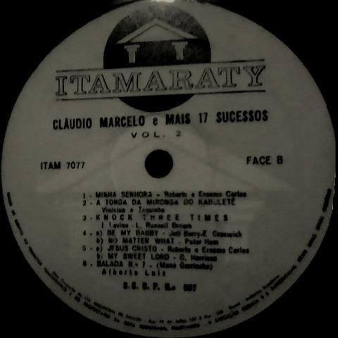 Cláudio Marcelo - Mais 17 sucessos Vol 2 r