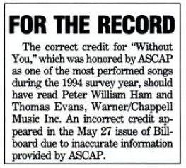 Billboard 1995年7月29日 p95