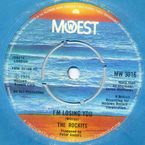 The Rockits - I'm Losing You (1974)