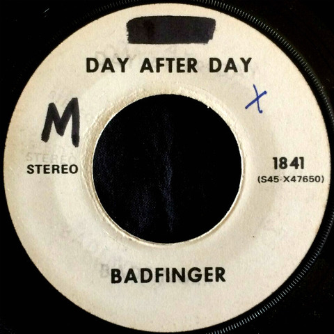 Badfinger Test Pressing 1841 Day After Day