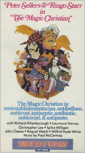 The Magic Christian VHS 95m Video Form Pictures 1983 UK