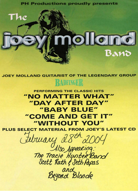 Joey Molland (Feb 28, 2004)