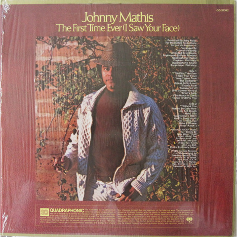 Johnny Mathis - CQ 31342 back