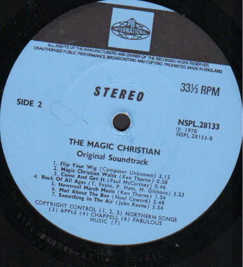 The Magic Christian OST NSPL 28133 r