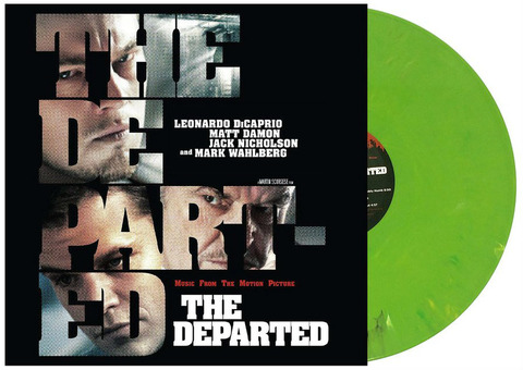 The Departed Soundtrack LP kelly green edition 2019