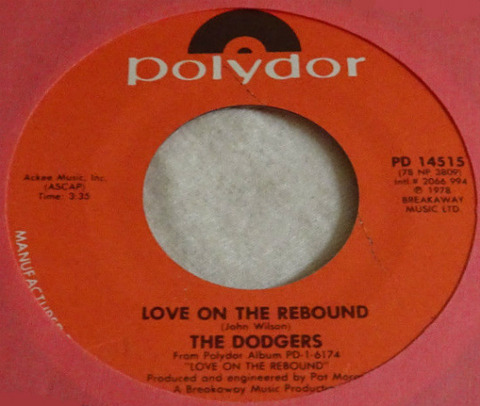 The Dodgers - Love on the Rebound