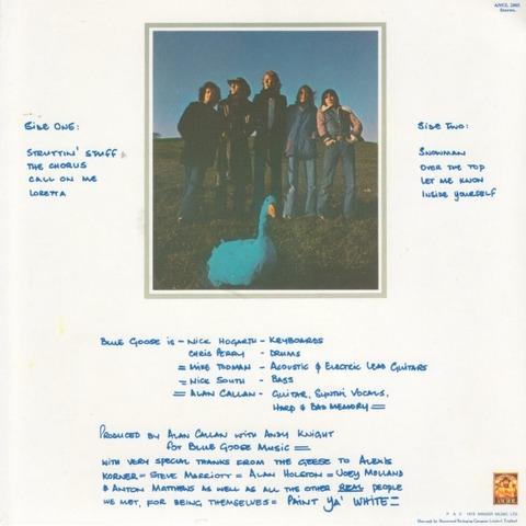 Blue Goose - UK back