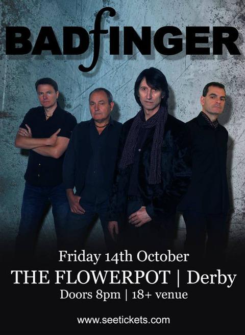 Badfinger - The Flower Pot, Derby (Oct 14, 2016)